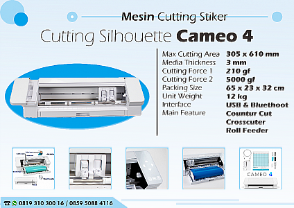 Mesin Cutting Sticker Silhouette Cameo 4